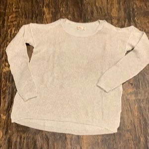 Hollister Sweater with Open Shoulders